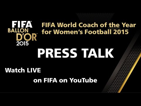 REPLAY: Coach of the Year for Women's Football 2015 PRESS TALK