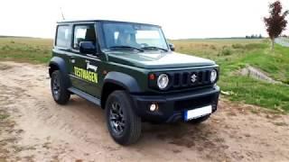 Jimny 2018 - Probefahrt mit 4x4 Globetrotter im neuen Suzuki