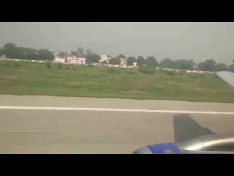 Takeoff from Varanasi Airport