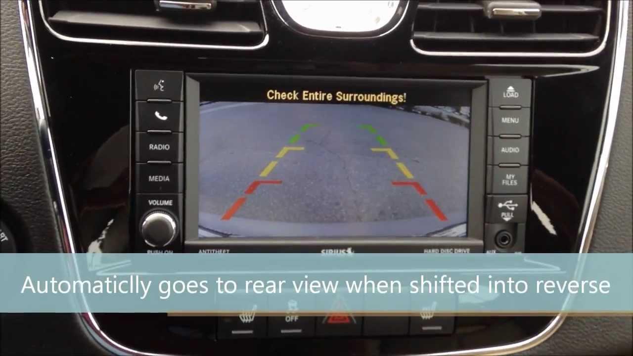 2014 Chrysler 200 Back Up Camera Youtube