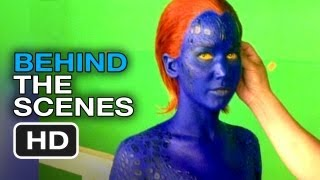 X-Men: Days of Future Past - More Behind the Scenes (2014) - Jennifer Lawrence Movie HD