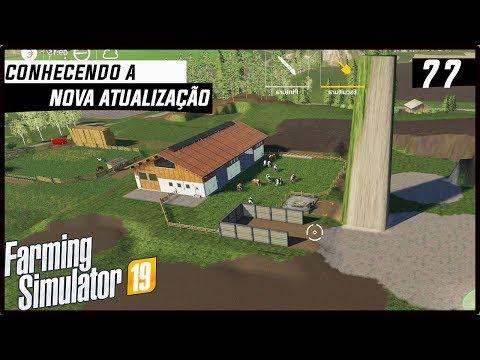 CONHECENDO A NOVA FERRAMENTA DA NOVA ATUALIZAÇÃO! | FARMING SIMULATOR 19 #77 [PT-BR]