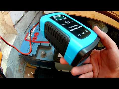 Самое дешевое зарядное устройство для автомобильного аккумулятора из Китая. (проверено, можно брать)
