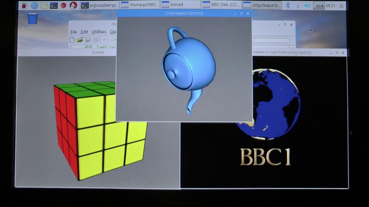 3D animations on Raspberry Pi