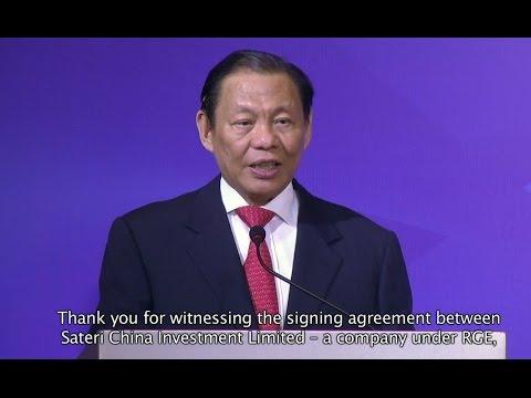 RGE Chairman Sukanto Tanoto shares his...