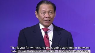 RGE Chairman Sukanto Tanoto shares his experience investing in Jiangxi China