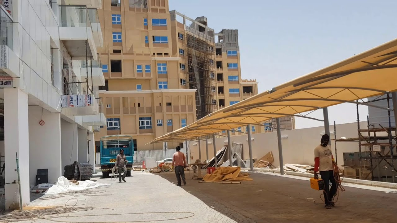Car Parking Shades Manufacturer | Shades Supplier In UAE