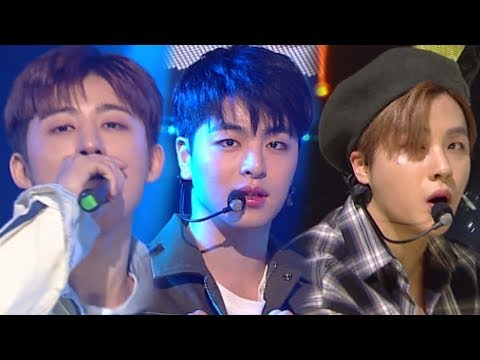 《EXCITING》 IKON(아이콘) - Rubber Band(고무줄다리기) @인기가요 Inkigayo 20180318