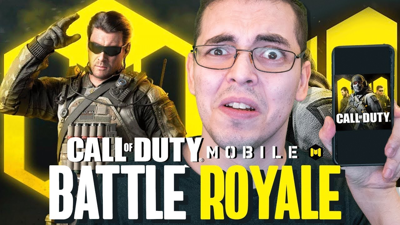 Call of Duty Mobile - O BATTLE ROYALE! (Adeus, Free Fire?)