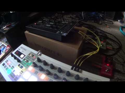 Using Moog Werkstatt-01 With Arturia Beatstep Pro