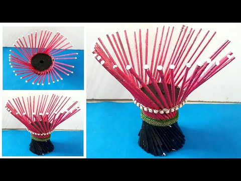 DRESSING TABLE SHOWPIECE CRAFT | DINNING TABLE SHOWPIECE | TABLE PAPER CRAFT IDEA | DIY SHOWPIECE