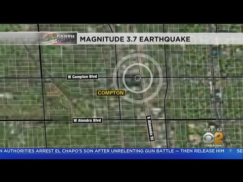 Magnitude-3.7 Earthquake Strikes Compton