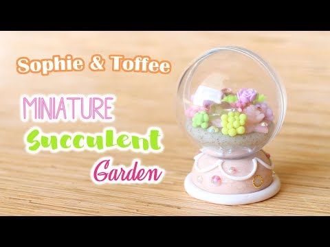Magical Succulent Garden Globe│Sophie and Toffee Subscription Box February 2018