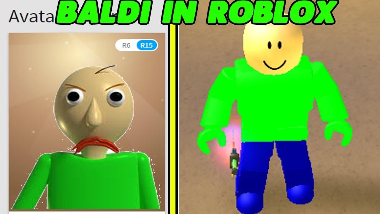 how to make your avatar into baldi in roblox  roblox baldi