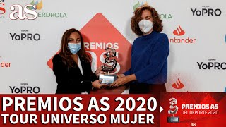 Premios AS 2020 | Tour Universo Mujer, Premio AS del Deporte 2020 | Diario AS