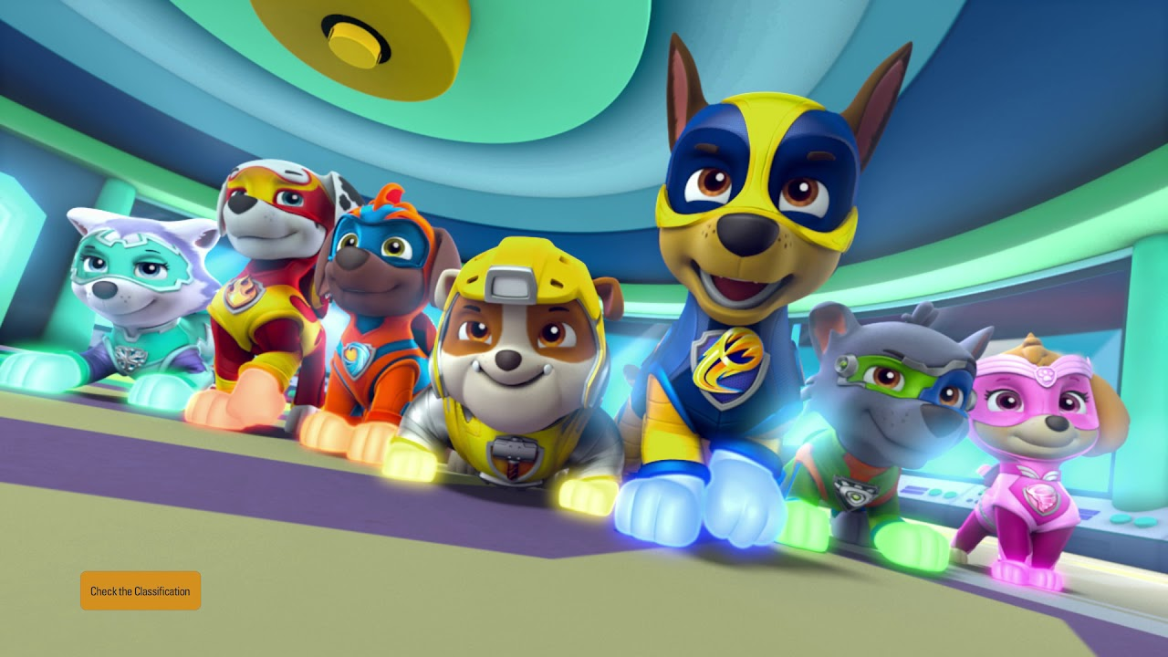 Paw Patrol Mighty Pups Trailer