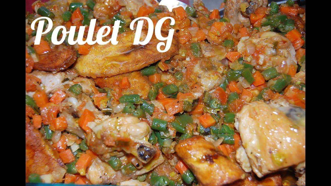 Recette du poulet dg directeur g n ral youtube - Recette de cuisine camerounaise ...