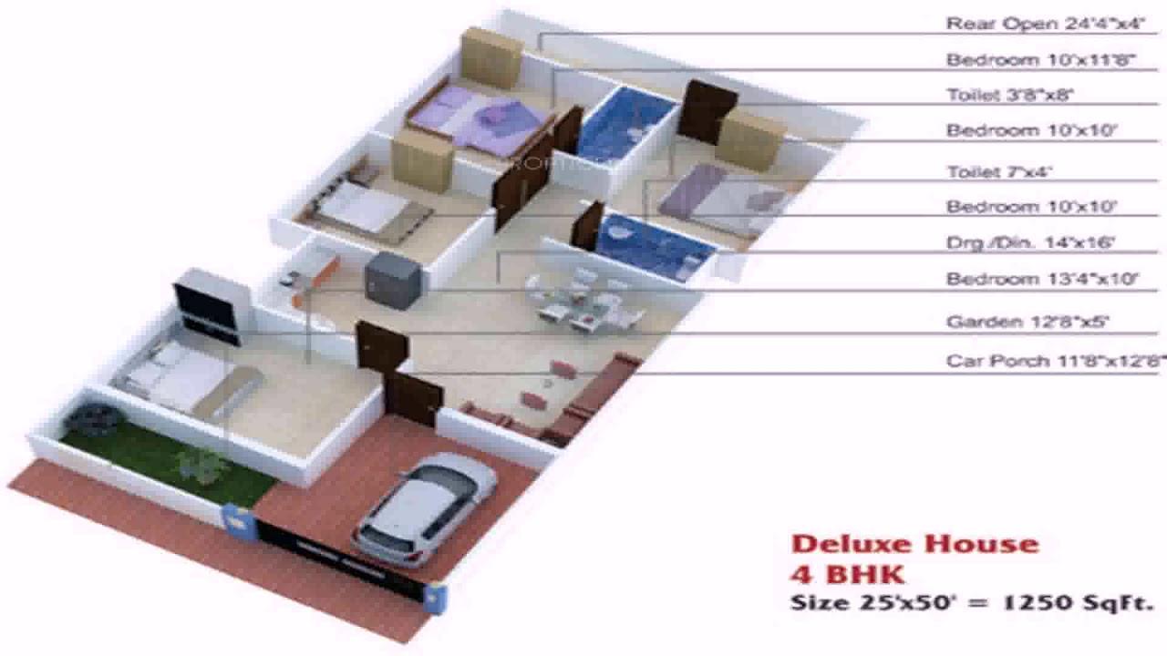 25 X 40 Duplex House Plans - YouTube
