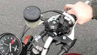 片腕で乗れるバイク 右腕仕様 Good helper person with disabilities rider thumbnail