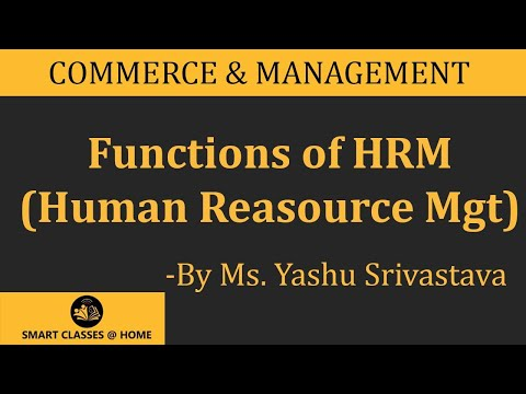 Functions of HRM(BBA,