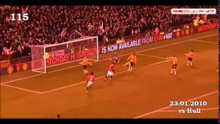 Wayne ROONEY all goals