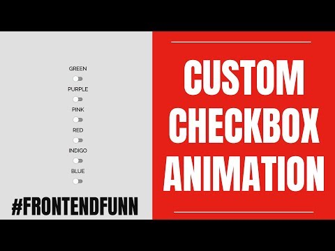 Custom Checkbox Codepen