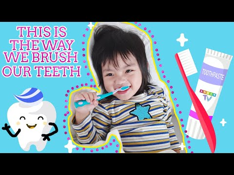 this-is-the-way-we-brush-our-teeth-|-kids-song