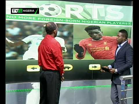Sports Week: Mayowa Ajayi interview with Deji Omotoyibo on Super Eagles' W/Cup qualification