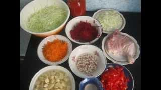 Borscht Soup Recipe - Ukrainian Recipe