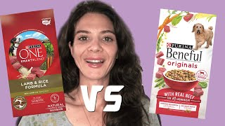 Dog food review: Purina One vs Purina Beneful