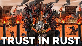 I made 200 CREATORS battle for charity in Rust...  - TRUST IN RUST 2 [FULL]