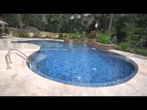 Sheer Descend | Swimming Pool | Travertine Patio | Built In Barbecue | Long  Island Gappsi