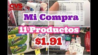Compra en CVS || 11 Productos por $1.91 || Abril 21-27,2019