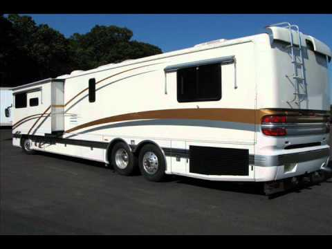 Motorcoach For Sale >> 2001 45' Fleetwood American Heritage Motor Home w Photos - YouTube