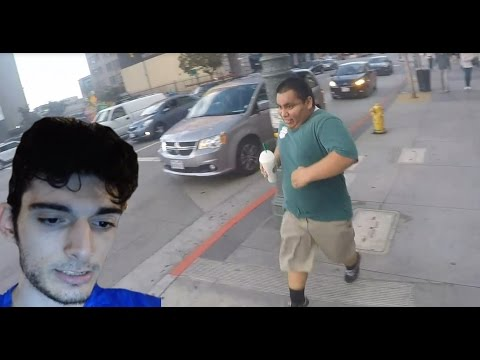 Ice Poseidon (bikes) & Mexican Andy (runs) to LA Live [VOD: 19-03-2017]