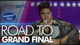 JOAN - JAILHOUSE ROCK (Elvis Presley) - Road To Grand Final - Indonesian Idol 2018
