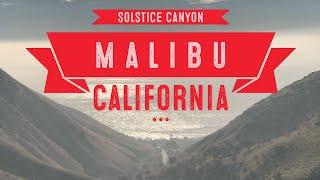 Hiking Solstice Canyon, Malibu