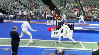 2013 European Fencing Championships  - Men's epee teams -  Italy vs. Ukraine - 36:45