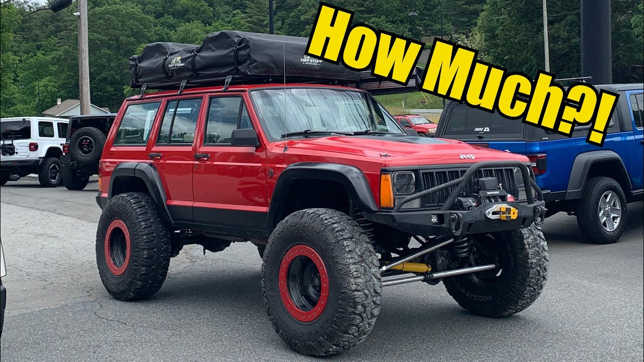How much did it cost to swap JK Rubicon axles into my XJ?