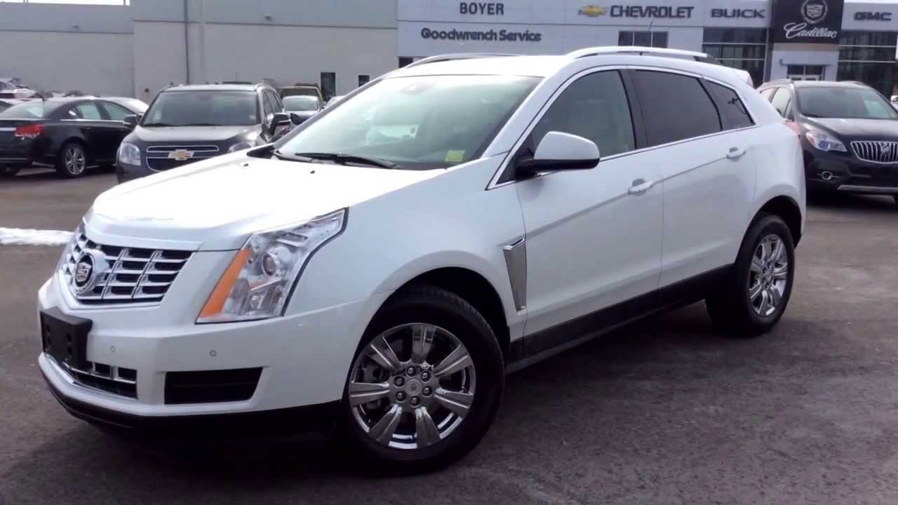 New 2014 Cadillac Srx Luxury Review At Boyer Pickering 140293