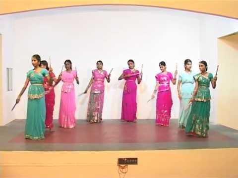 Bethlagaem Oororam (Tamil) - Indian Christian Folk Dance.mov