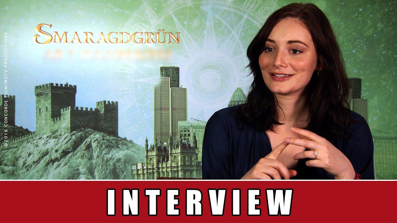 Smaragdgrün - Interview I Maria Ehrich