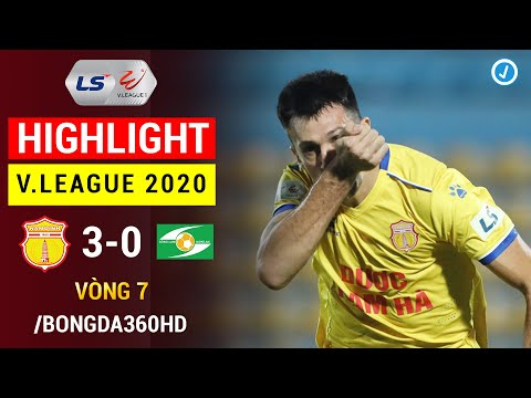 Nam Dinh Song Lam Nghe An Goals And Highlights