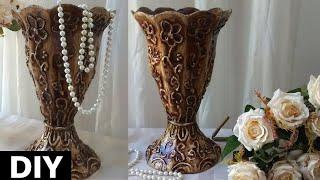Vaso de caixas de leite – Modelo Tulipa