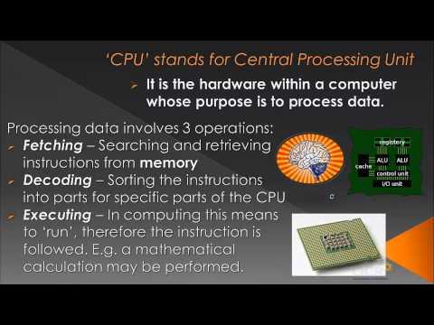 OCR GCSE Computing: CPU - Topic 2