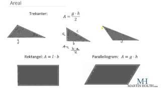 Matematikk 1P- Geometri - Areal