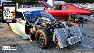 homepage tile video photo for Day 4 - HOT ROD Drag Week 2021 Livestream REPLAY