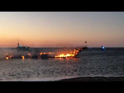 New Port Richey Casino boat fire