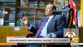 Insurance brokers protest law barring them from collecting premiums