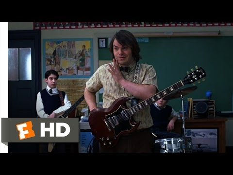 The School of Rock (4/10) Movie CLIP - The Rock Band Project (2003) HD